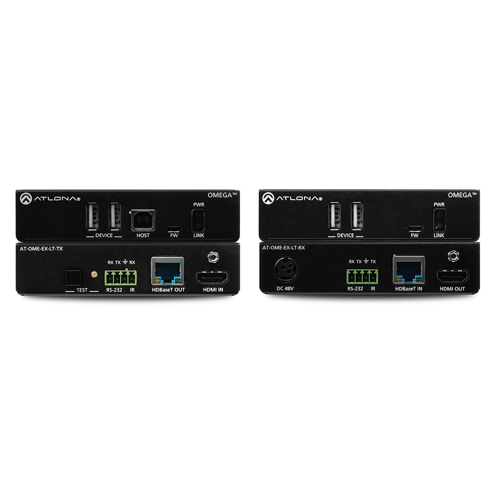 Atlona AT-OME-EX-KIT-LT HDBaseT extender set HDMI with USB