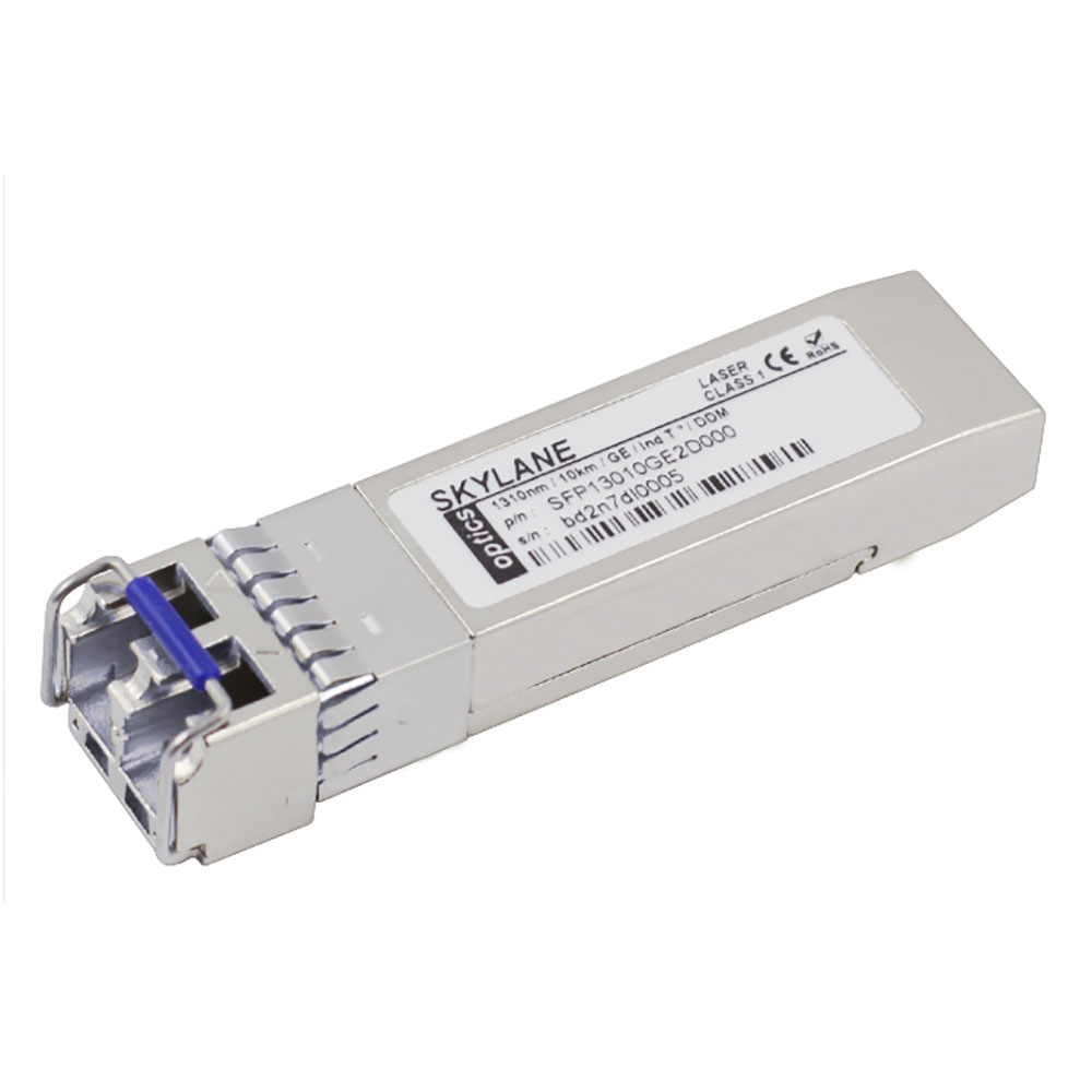 Skylane Optics SFP13010GE0BJ07 SFP LX transceiver coded for Allied Telesis AT-SPLX10