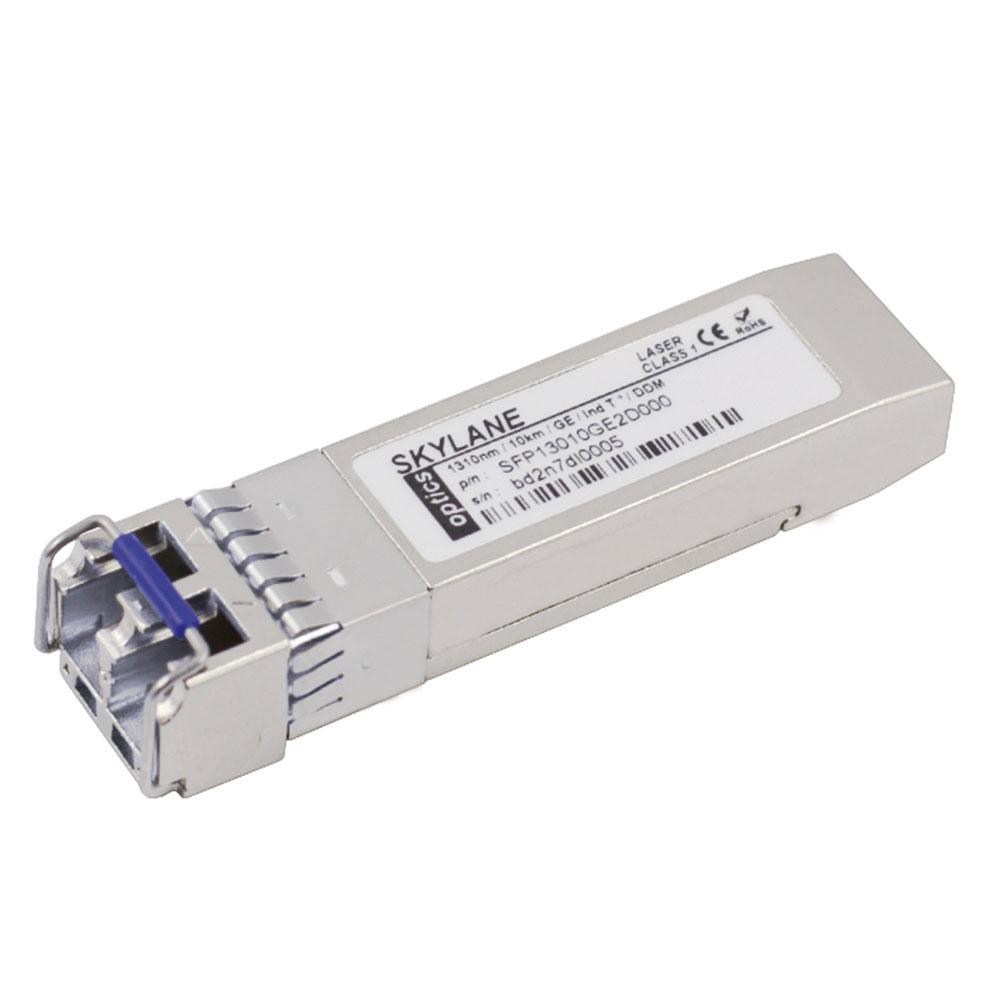Skylane Optics SPP13010100BE21 SFP+ LR transceiver coded for Myricom 10G-SFP-LR