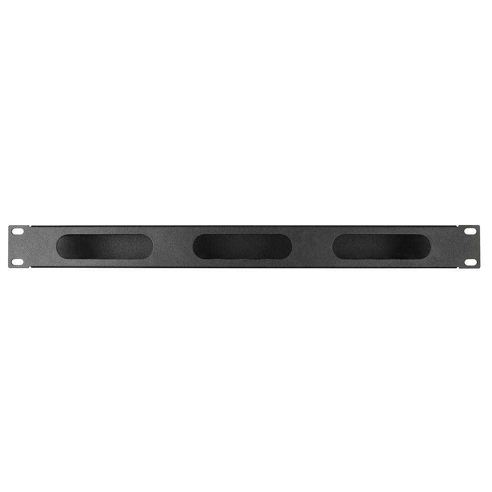 WP Rack WPN-ACM-302-B Cable management panel with cover 2U