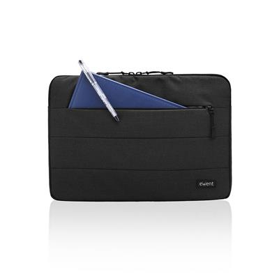 Ewent City, laptop sleeve 13.3 inch, zwart