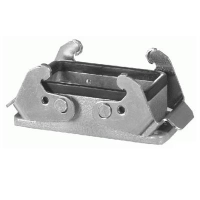 Amphenol C14610F0100001 Heavymate C146 housing with gasket and locking