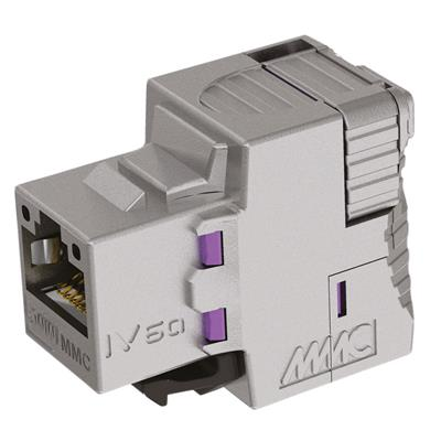 Multimedia Connect IV6AFS8 Keystone Jack IV CAT6A shielded toolless