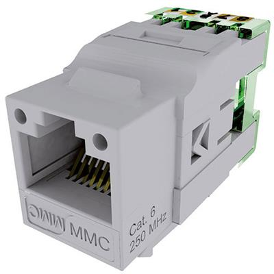 Multimedia Connect BC6NB Keystone Jack BC CAT6 unshielded