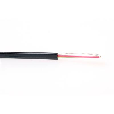 ACT Modular flatcable   6 conductors black