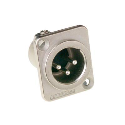 Amphenol AC5MDZ 5 pole XLR Socket male in Type D
