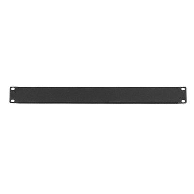 WP Rack WPN-ABP-1-B Blanc Panel 1U, Black RAL 9005