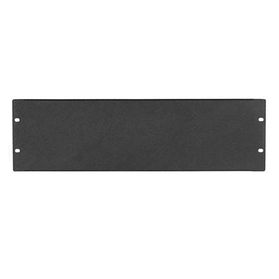 WP Rack WPN-ABP-3-B Blanc Panel 3U, Black RAL 9005